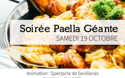 Soirée Paella Géante